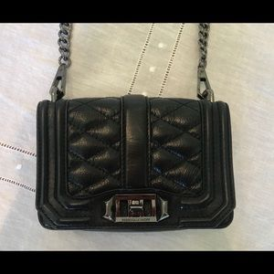 Rebecca Minkoff Quilted Small Love Crossbody